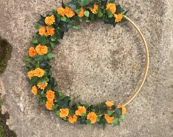 Hoop Wreath