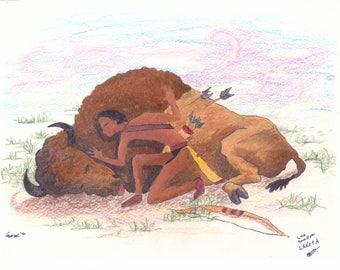 Buffalo Hunt~ Lakota