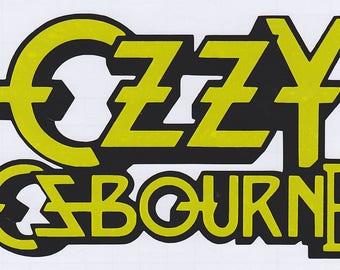 Ozzy Osbourne - The Ultimate Sin vinyl decal