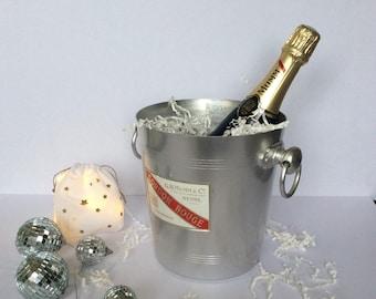 MUMM champagne bucket. Vintage. FRANCE.