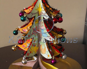 3D Christmas Tree Decoration, group activity