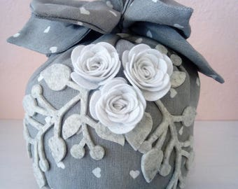 doorstop fabric, Shabby Chic style