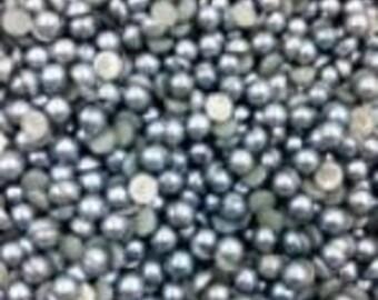 2000* Grey/Silver 3mm Gems/Pearls