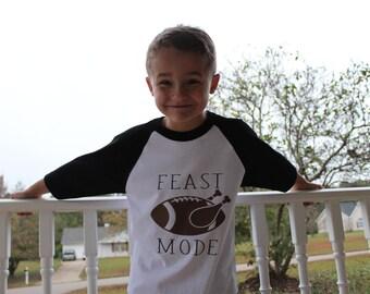 Feast Mode Shirt - Boy Thanksgiving Shirt - Thanksgiving Shirt