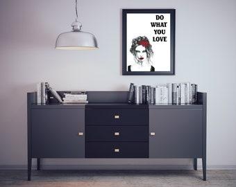 Love, Love poster, Love print, Love Canvas , Inspiring Poster, Inspiring Decoration, Home decoration