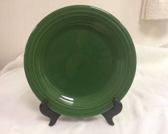 Dinner Plate in Fiesta's Forest Green Pattern