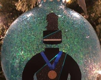 Custom Marching Band Uniform Christmas Ornament