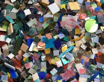 HUGE Stained Glass Mosaic Tile CLEARANCE