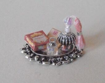 Dollhouse Miniature 1/12th Perfume Tray