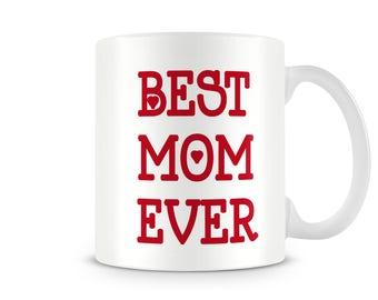 Best MOM ever printed 11oz Coffee/Tea MUG Mother Gift Birthday Present  - EM005