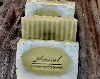 Patchouli and Hemp Soap / Handmade Soap / Natural Body Care