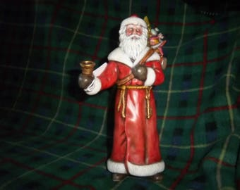Hand Painted Ceramic Santa #7