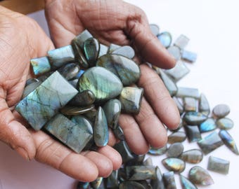 Natural Multifire LABRADORITE Sale 40% OFF, Wholesale Gemstones 100 Carats Top Quality AA+ Labradorite Wholesale Gemstones, Labradorite lot.