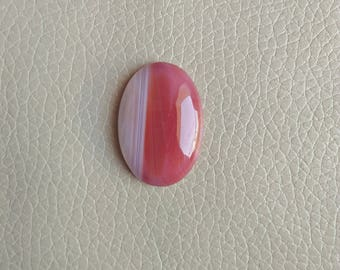 Beautiful Natural Onyx Banded Gemstone, Pendant Onyx Banded Stone, Onyx Banded Stone Weight 38 Carat and Size 32x23x8 MM Approx.
