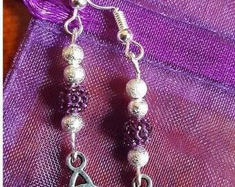 Handmade Tibetan Silver Earrings