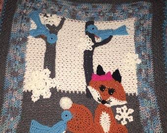 Custom Hand Crocheted Blanket