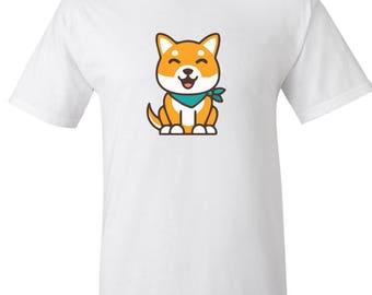My Shiba inu custom Graphic Logo T Shirt - Unisex