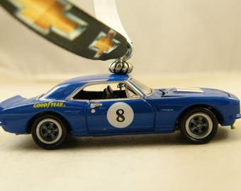 Camaro - FREE SHIPPING - Anytime Ornament - 1968 68 Chevy - opening hood - man cave - dad - birthday - Fathers Day - Old School muscle car