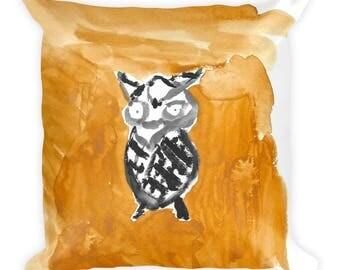 Boo Hoo Owl Pillow