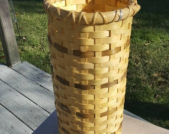 Tall basket duel color