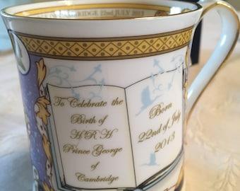 Commemorative Aynsley Prince George Tankard