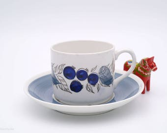 Rorstrand Gille Coffee Cup & Saucer
