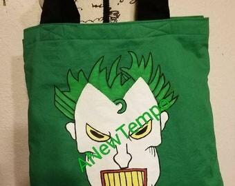 Joker bag. Villain. The joker.