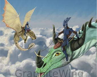 How to Train your Dragon Inspired art Print