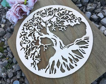 Exclusive Vintage Wooden Tree of Life Wall Art