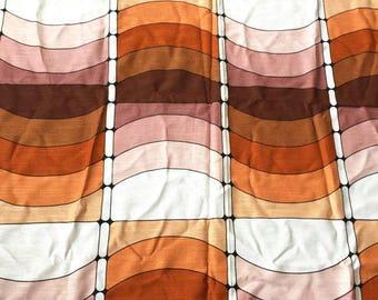 70s 50cm x 120cm: Fabric geometric