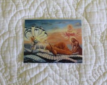 Hare Krishna Wallet Prosperity Cards!