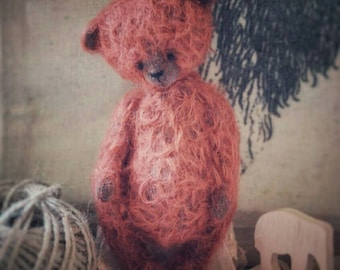 Artist mohair bear