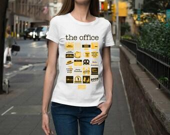 The office Shirt - Schrute Farms T-Shirt - Dwight T-Shirt Long Sleeve High Quality Graphic T-Shirts Unisex