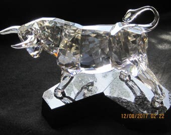 Swarovski Crystal Bull Figurine Soulmates for that hard to find person