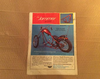 1972 October Easyrider magazine
