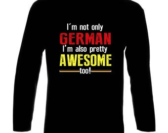 Germany Funny Long Sleeve T-Shirt