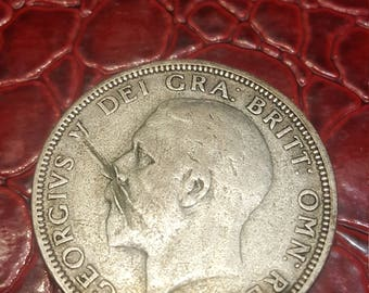 1933 Great Britain Uncertified Silver George V Florin