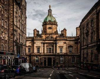 Bank of Scotland - The Mound, Edinburgh, Scotland, UK, Street Photography, Travel, Architecture, Urban, Fine Art Photography