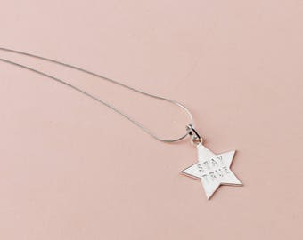 """""""Stay True"""" necklace"""