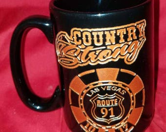 Poker chip coffee mug ...