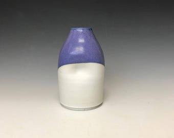 Dimpled sake bottle