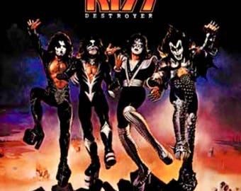 "KISS: ""Destroyer Album Cover""3""X 3"" Magnet"