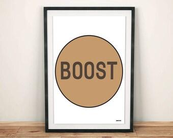 Yeezy boost box, Yeezy Boost, adidas, sneaker art, sneaker poster, sneaker print, sneakerhead, sneakerhead poster, A4