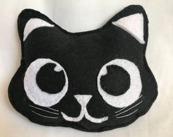 tooth pillow - black cat