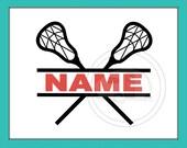 Lacrosse, Lacrosse SVG, Lacrosse decal, Lacrosse Split, Lacrosse Cut File, Lacrosse design, Lacrosse Helmet Decal, Lacrosse Vector Design
