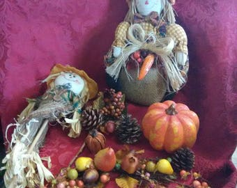 Vintage Fall decorations