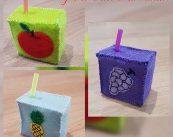 Fruit juice box