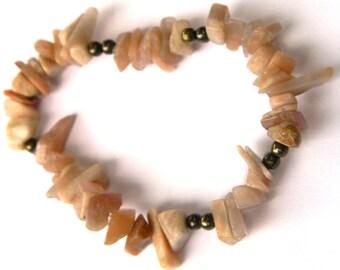 Rose Natural Stone Bracelet