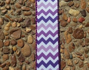 Purple Dog Collar, Chevron Dog Collar, Pretty Purple Collar, Lavender Dog Collar, Girl Dog Collar, Design Dog Collar, Lilac Dog Collar