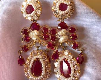 Oaxacan Chuzas Earings , made in Oaxaca